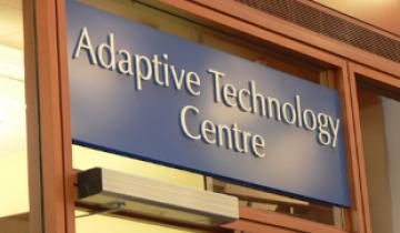 The Adaptive Technology Centre Sign